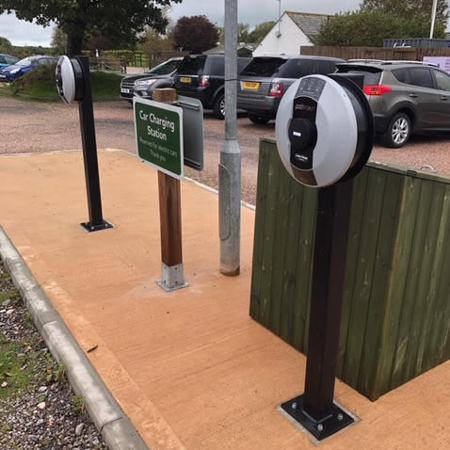 Electric Vehicle Charge Point Installation